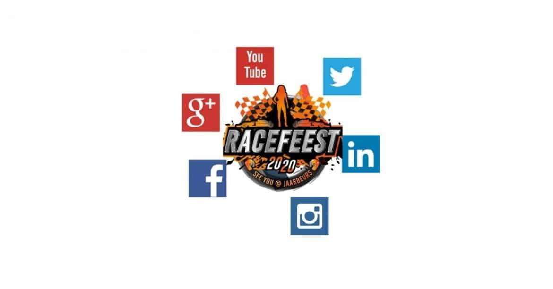 Racefeest op social media