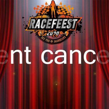 Racefeest 2020 afgelast